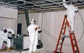 Performing the HVAC System cleaning in building